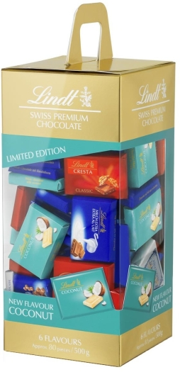 Lindt Assorted Napolitains with Coconut 500g