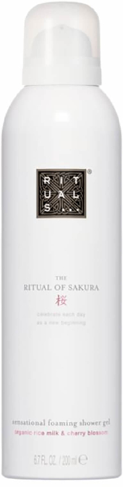 Rituals Sakura Foaming Shower Gel 200ML