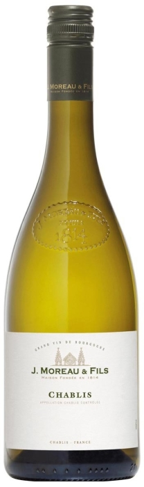 J. Moreau&Fils Chablis Dry White 0.75L