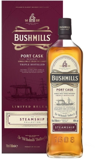 Bushmills Steamship Port Cask 0.7L