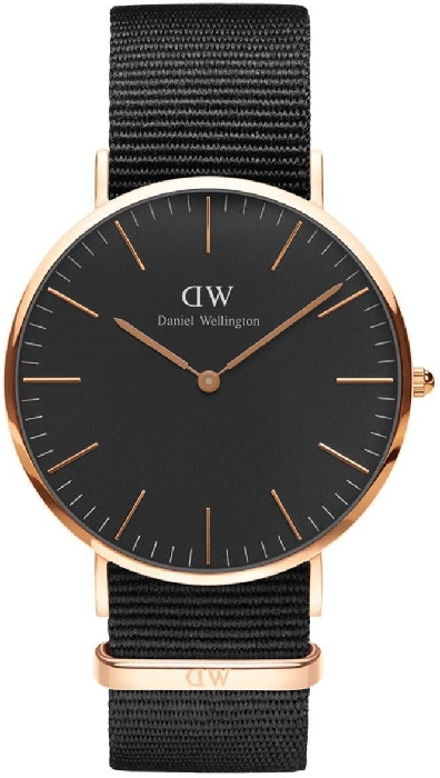 Daniel Wellington DW00100148 40 Classic Black Cornwall