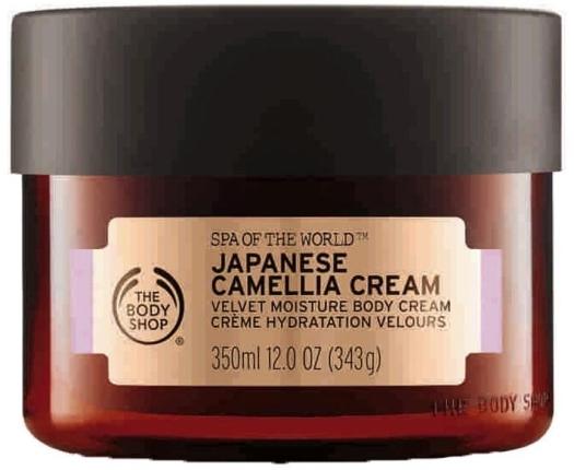 The Body Shop Spa of the World Japanese Camellia Body Cream 350ml