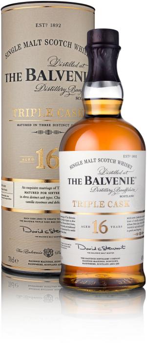 Balvenie Triple Cask 16y 40% 0.7L
