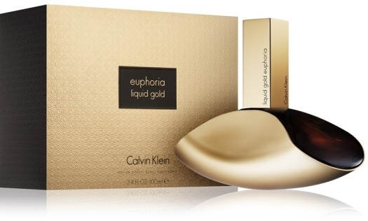 CALVIN KLEIN Liquid Gold Euphoria For Woman 100ml