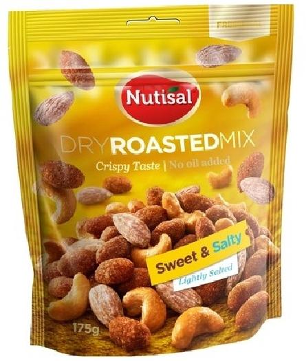 Nutisal Dry Roasted Sweet&Salty 1004094 175g