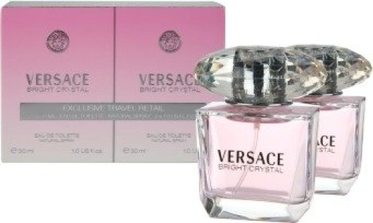 Eau de Toilette collection Versace Crystal Duo EdT 2 bottles (30 ml each)