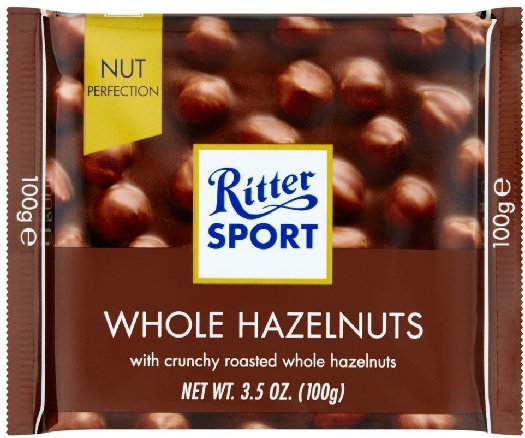 Ritter Whole Hazelnuts 100g