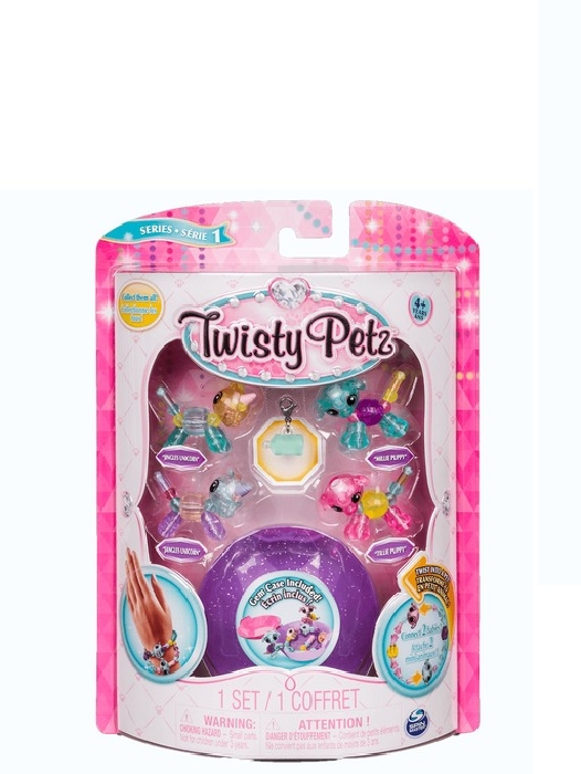 Spin Master Twisty Petz Twin Babies Four Pack 90.7g