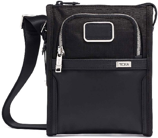 Tumi ALPHA 3 Pocket Bag Small, Black 02203110DCH3