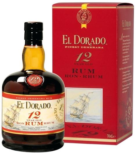 El Doradо Rum 12 YO 0.7L