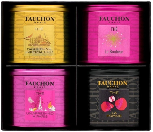 Fauchon Mini Tea Blend 4x gift box 25g