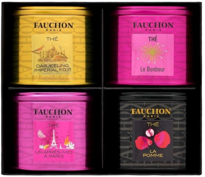 Fauchon Mini Tea Blend 4x gift box 25g