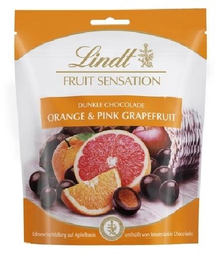 Lindt Fruit Sensation Orange Grapefruit 150g