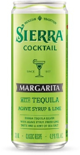 Sierra Margarita Cocktail 4.9%