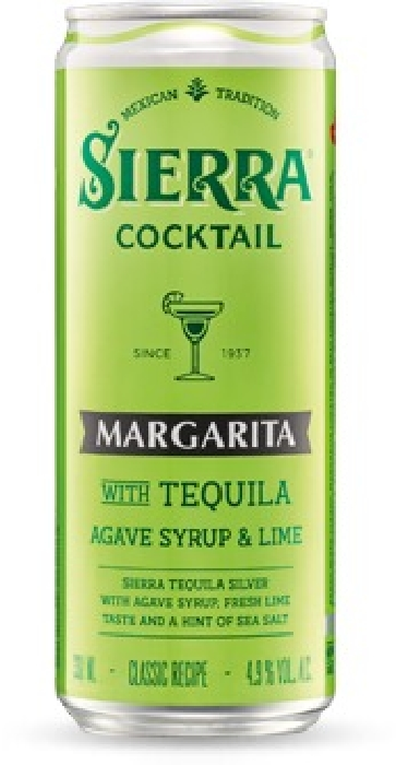 Sierra Margarita Cocktail 4.9%