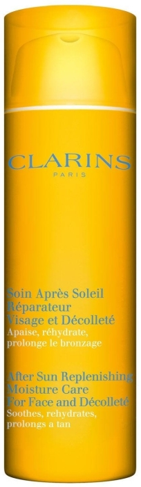 Clarins After Sun Replenishing Moisture Care for Face and Decollete 50ml