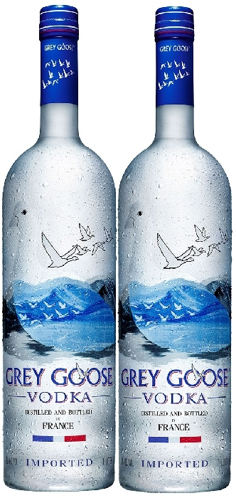 Grey Goose Vodka 40% Twin Pack 2x1L