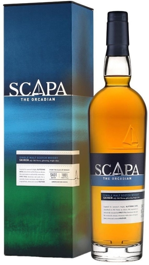 Scapa Skiren Single Malt Scotch Whiskey 40% 0.7L