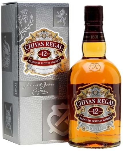 Chivas Regal 12yo Whiskey 0.7L