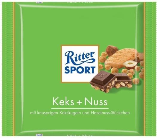 Ritter Sport Keks&Nuss 250g