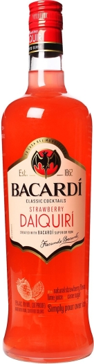 Bacardi Daiquiri Strawberry 1L