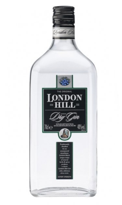 London Hill Dry Gin 1L