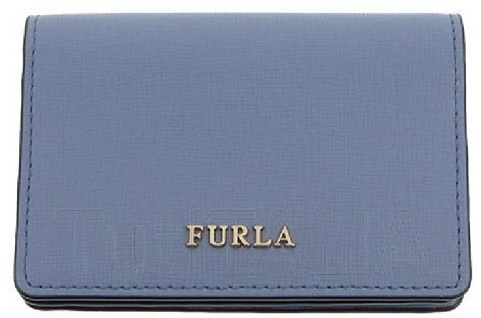 Furla Card holder Babylon 903649 Light blue
