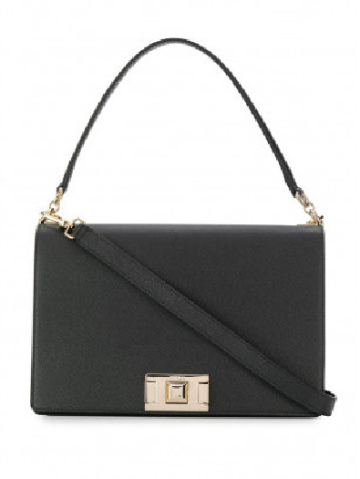 Furla Mimi M Crossbody, Black 1033441