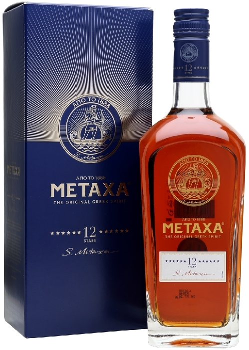 Metaxa 12* Brandy 1L