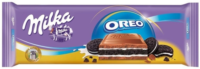 Milka Oreo Chocolate 300g
