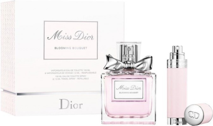 Perfume Set Miss Dior Blooming Bouquet Travel EdT 100ml+7,5ml