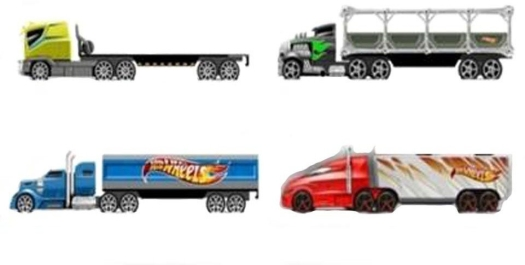 Hot Wheels Tracking Trucks die cast not included