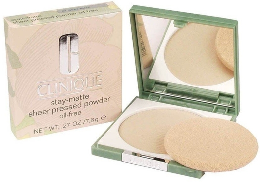Clinique Stay-Matte Sheer Pressed Powder N01 Buff 7g
