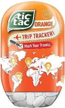 Tic Tac Bottle Orange 98gr