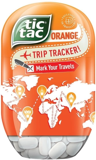Tic Tac Bottle Orange 98g