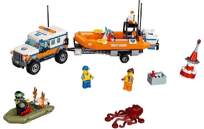 LEGO City Coast Guard 4 x 4 Response Unit