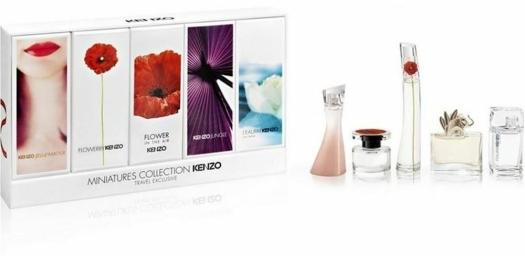 Kenzo Set 5 Miniatures Femme 4ml + 4ml + 4ml + 5ml + 5ml