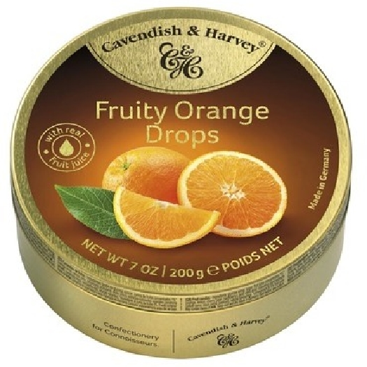 Cavendish&Harvey Orange Candies 200g