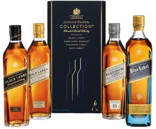 Johnnie Walker Collection 4x0.2L