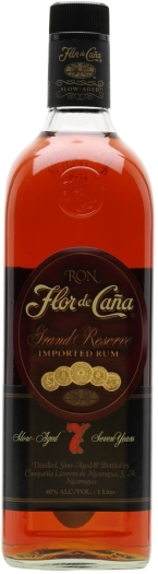 Flor de Cana Grand Reserva Rum 7 Years Old 40% 1L