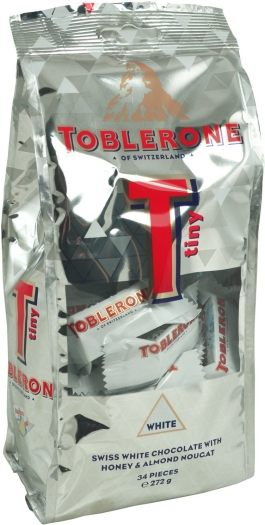 Toblerone Tiny White Bag 296g