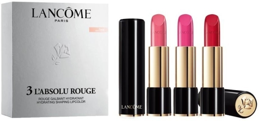 Lancome Labsolu Rouge Lipstick Set 3x4.2ml
