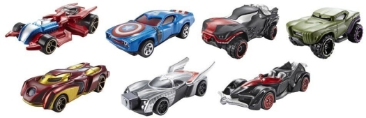 Hot Wheels Avengers Marvel Car