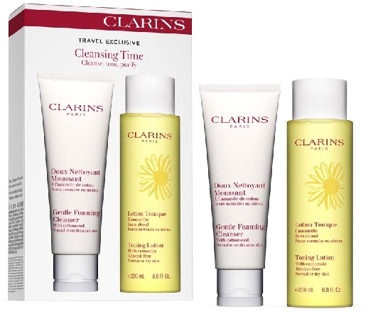 Clarins Cleaning Time Travel Set 200ml+125ml