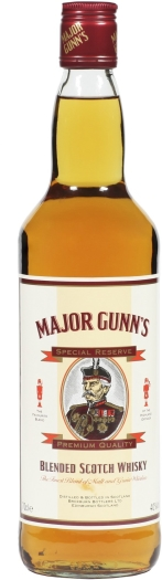 Major Gunns Scotch 1L