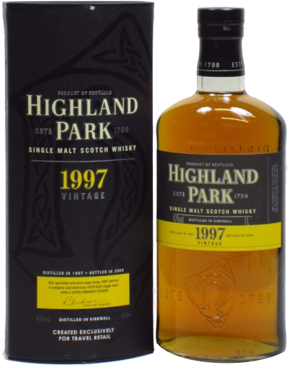 Highland Park Vintage 1997 1L