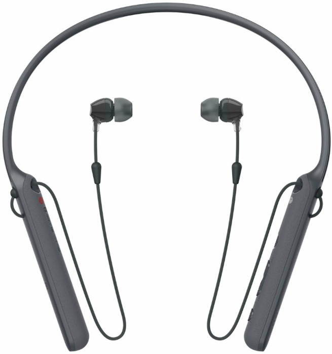 Sony WI-C400 In-ear Bluetooth Headphones with Neckband Black 35g