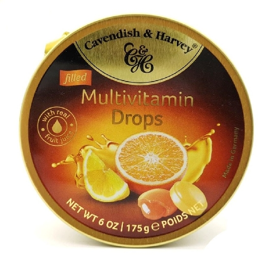 Cavendish&Harvey Multivitamin Drops Filled 175g