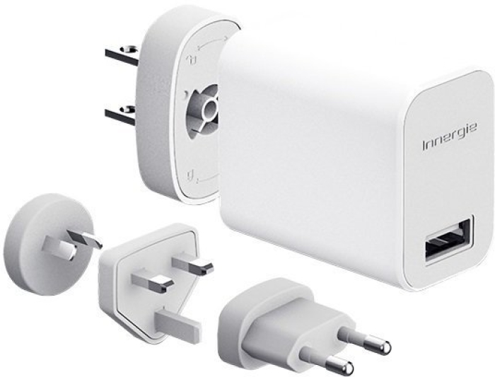 Innergie 10w Wall Charger Power Travel Kit