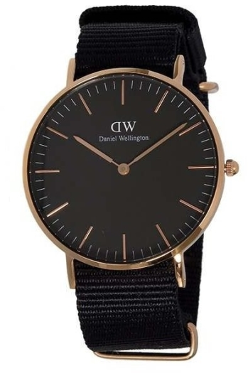 Daniel Wellington DW00100150 36 Classic Black Cornwall
